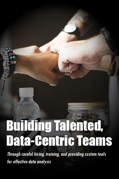 Building Talented, Data-Specific Teams