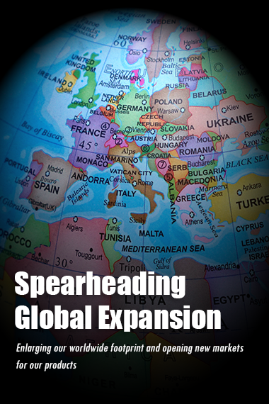 Spearheading Global Expansion